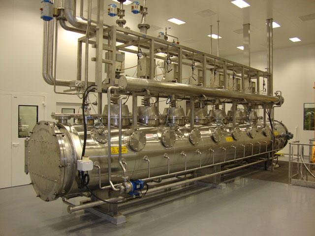 Poste d'assemblage semi-automatique de membrane, levier détendeur